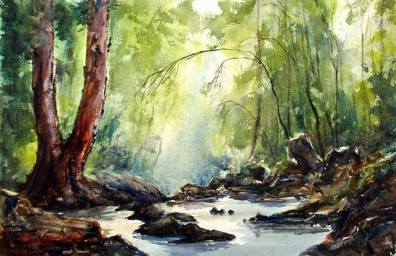 116 best images about Landscapes on Pinterest | Watercolour ...