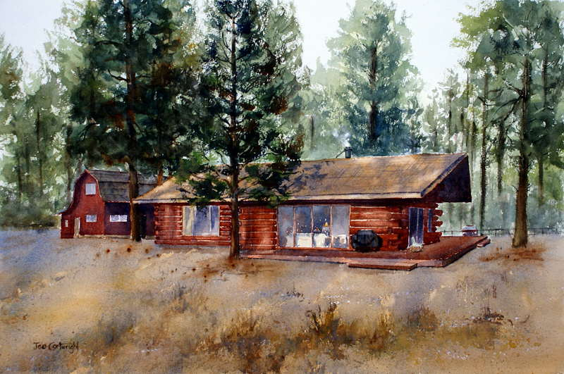 Watercolor Painting Landscapes And Watercolors On Pinterest