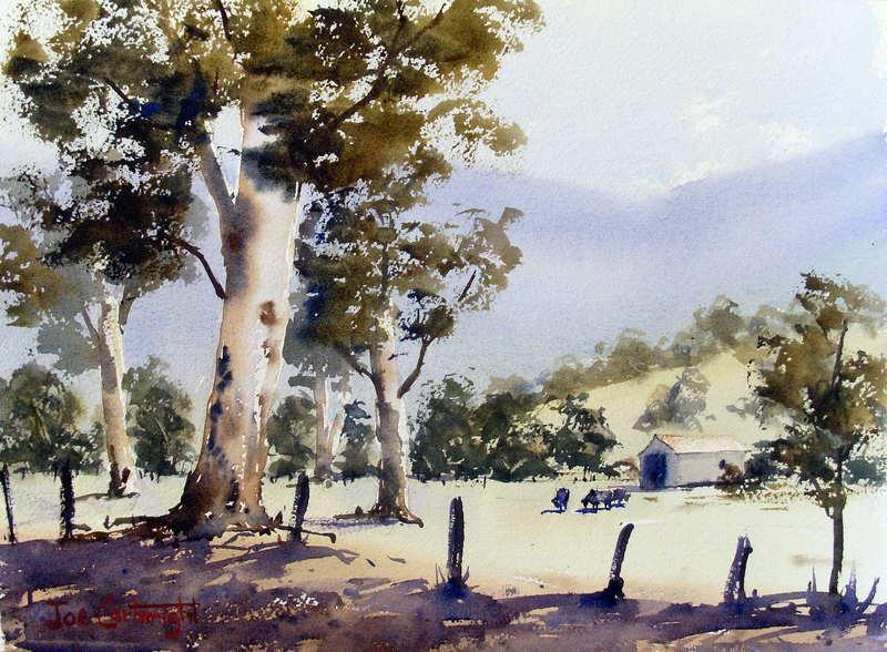 Watercolor Landscape Paintings How To Watercolour Landscapes