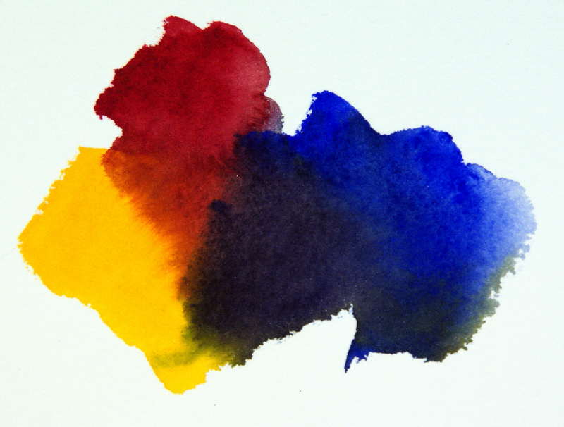 Watercolor Color Mixing Color Mixing Formula
