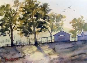 Watercolor Gallery of Landscapes